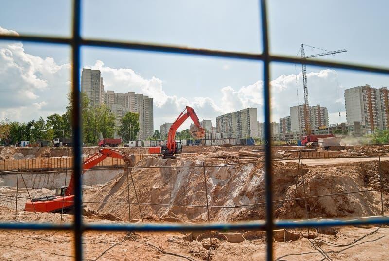 Download Excavators stock image. Image of part, excavators, cranage - 10417879