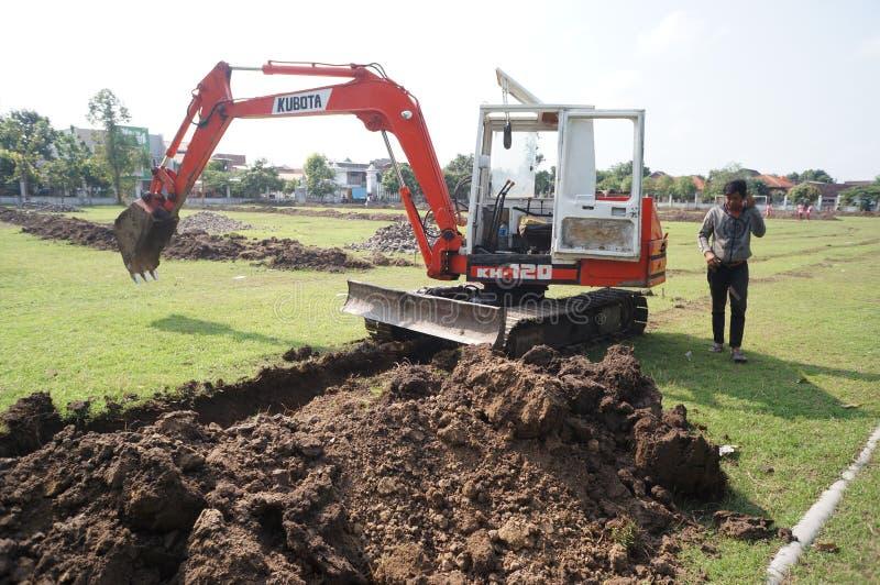 excavators foto de stock