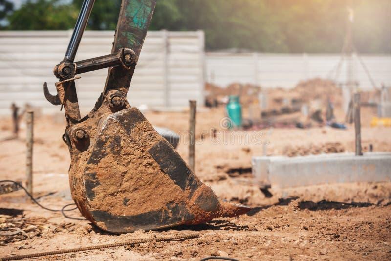 Excavatrice Backhoe images stock