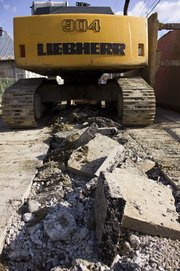 Excavatrice de Liebherr 904 photos libres de droits