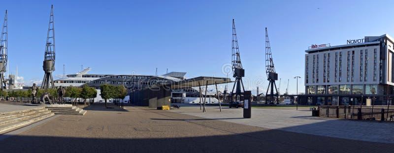 Excel-Jachthafen stockfotografie