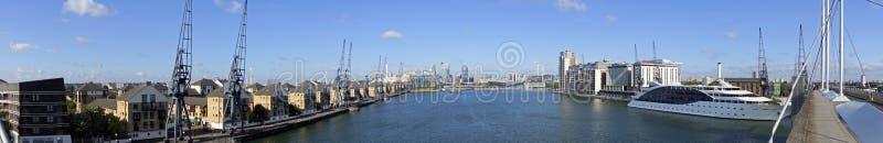 Excel-panoramische Jachthaven 180 graad royalty-vrije stock foto's