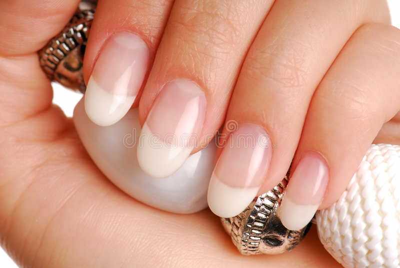 Excellence nails royalty free stock image