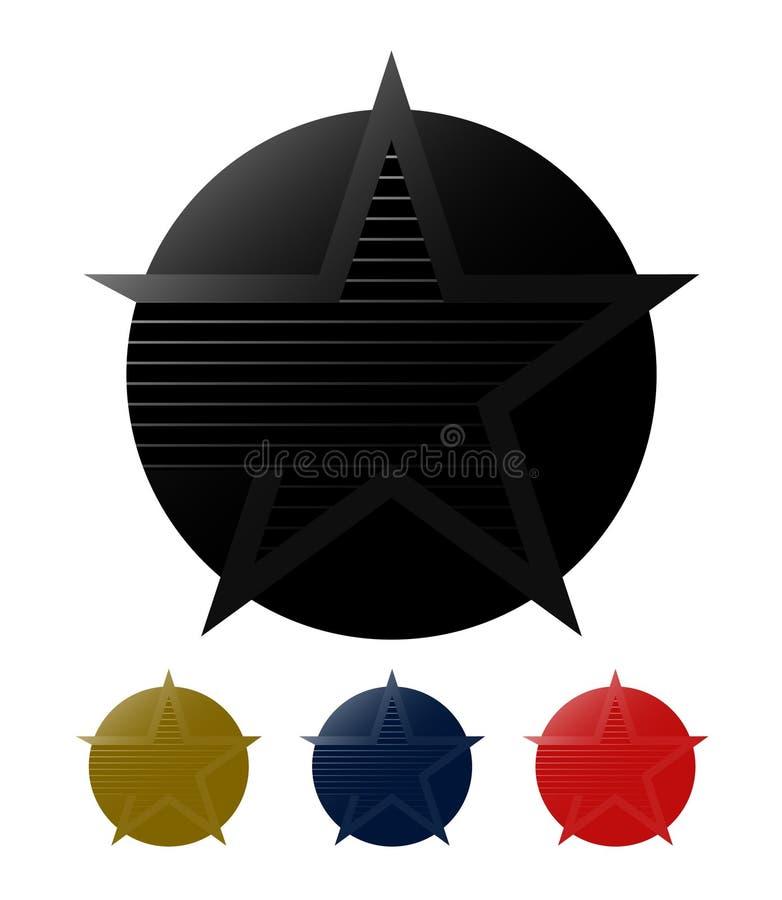 Excellence symbol stock illustration