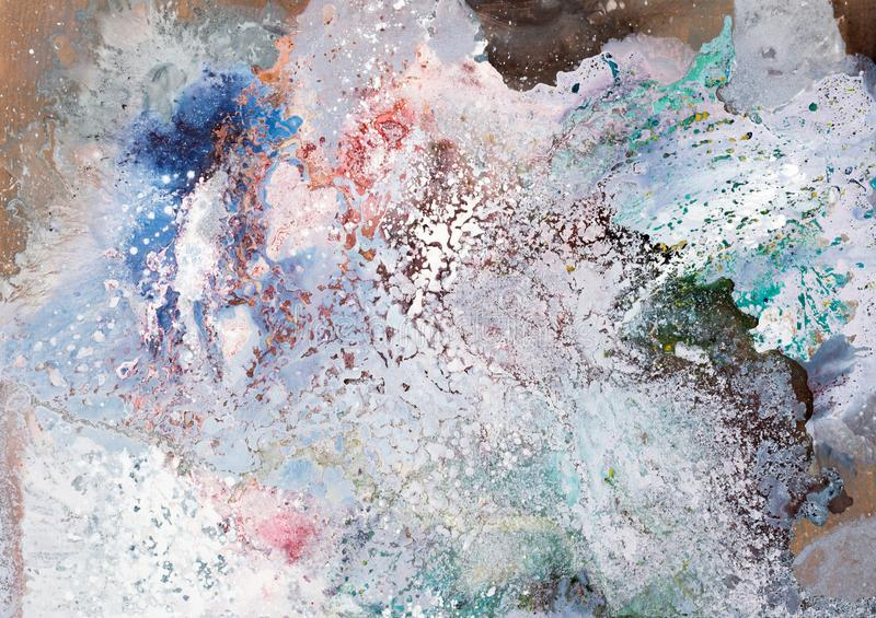 Excellent abstract painting for your new unique design. royalty free stock photos