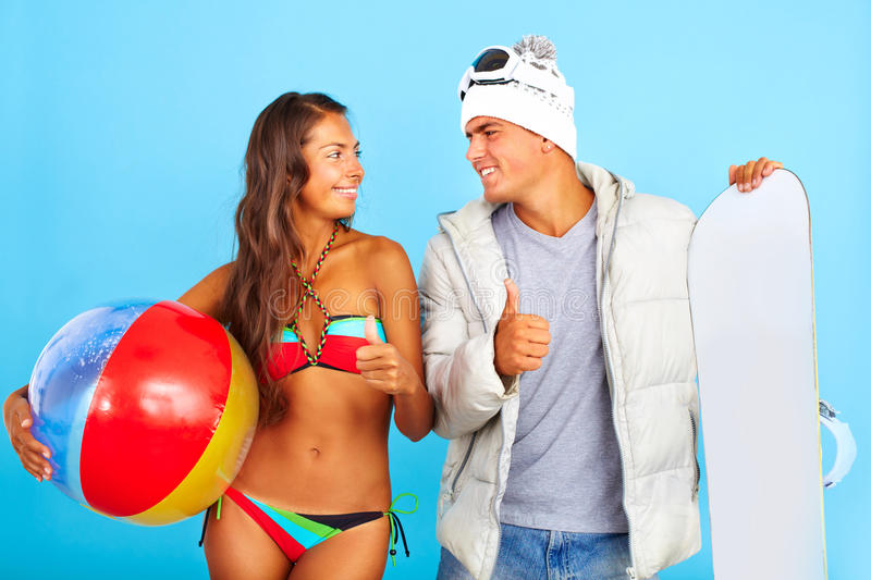 Excellent vacations royalty free stock photography