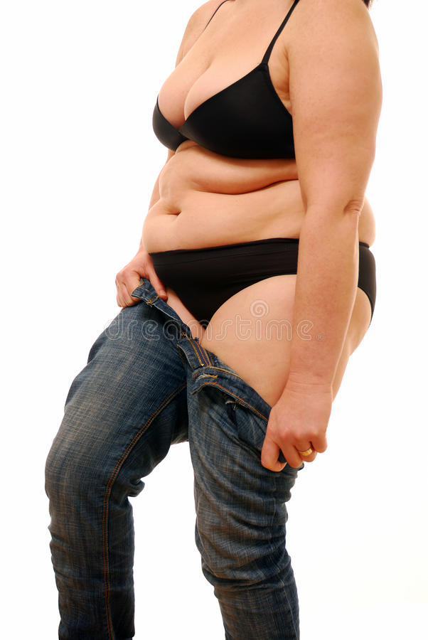 Excess fat royalty free stock photography