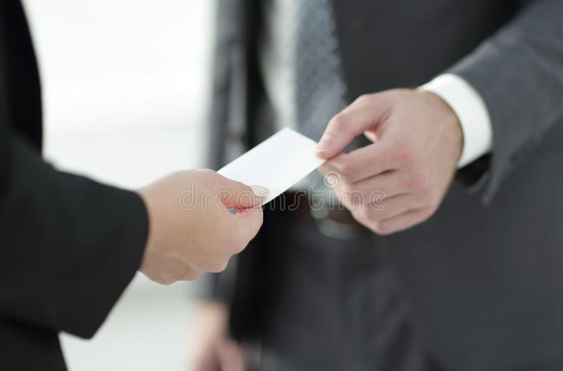 Exchange business card for first time meet stock image image of download exchange business card for first time meet stock image image of finger businessman colourmoves