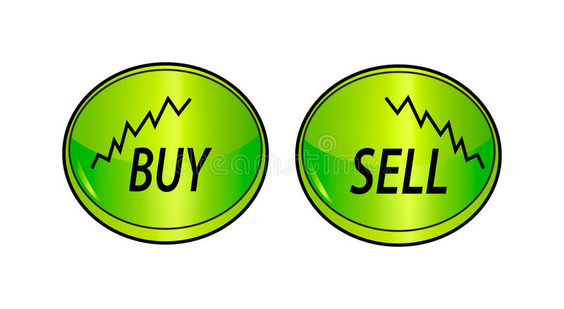 Exchange Buttons Stock Photo