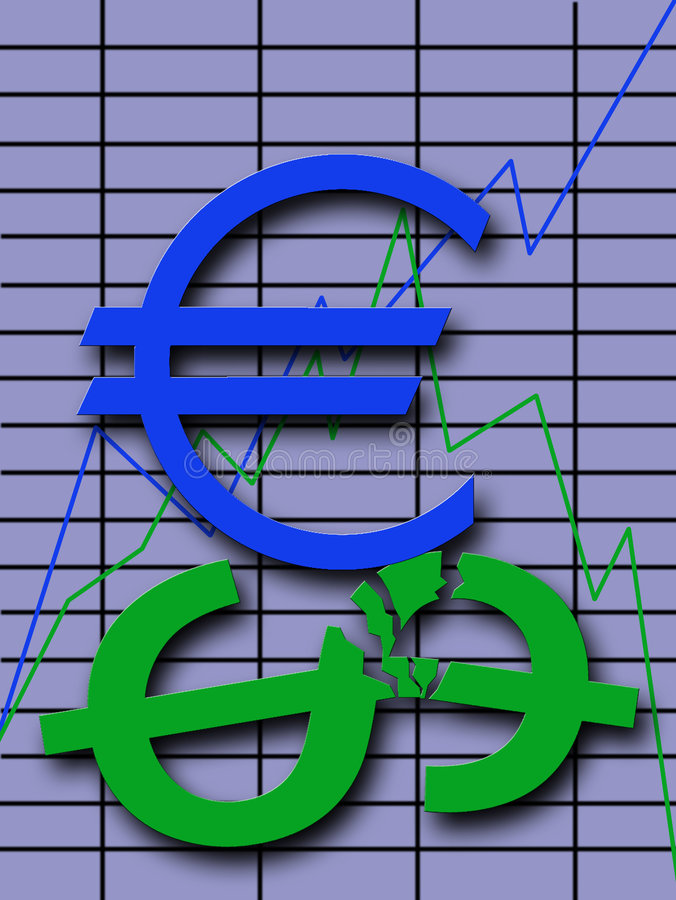 Download Exchange Fluctuations stock illustration. Image of green - 2109671