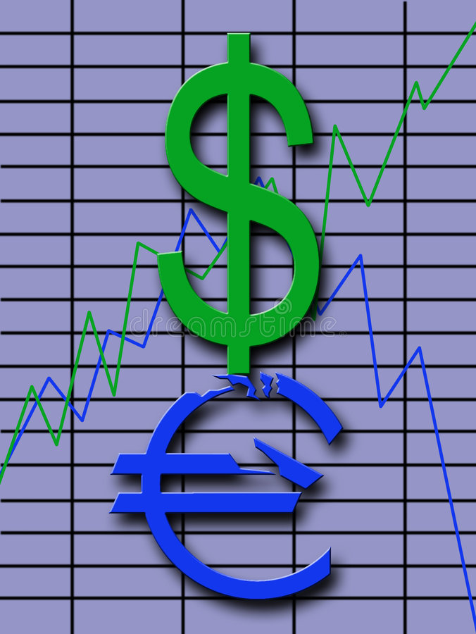 Exchange Fluctuations Stock Photos