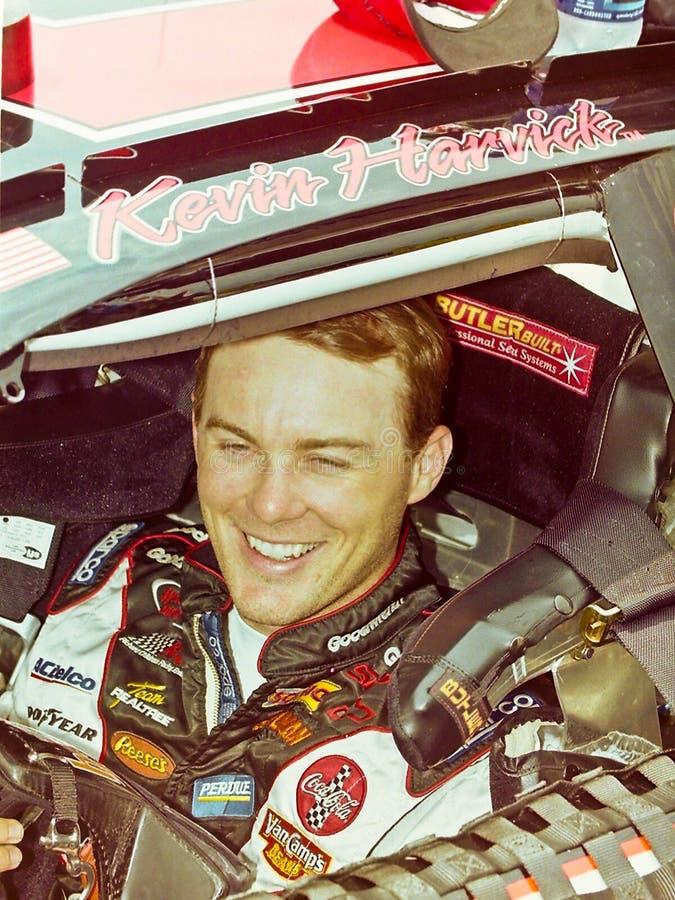 Excitador de Kevin Harvick NASCAR imagens de stock royalty free