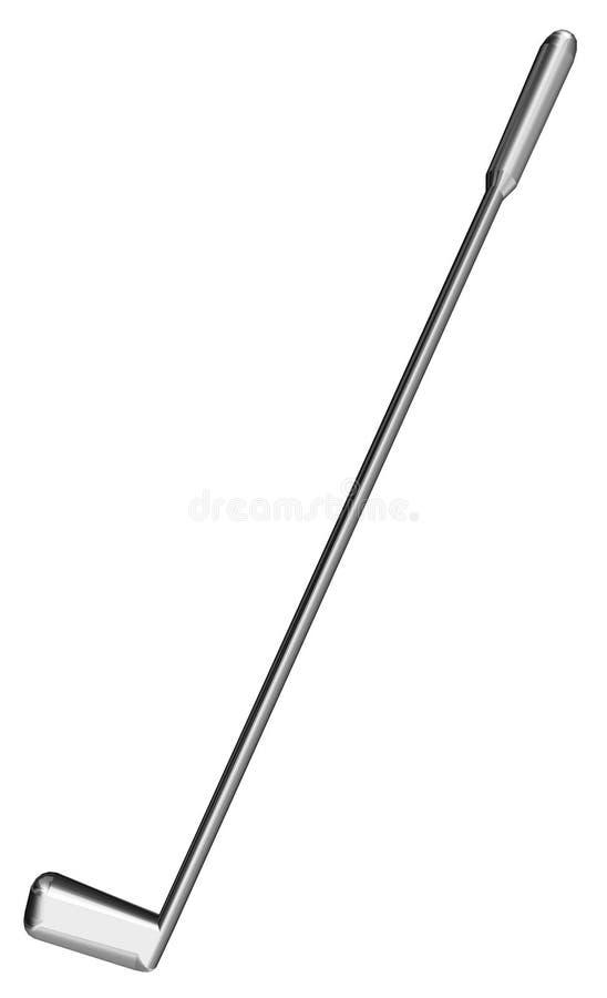 Excitador do golfe ilustração royalty free