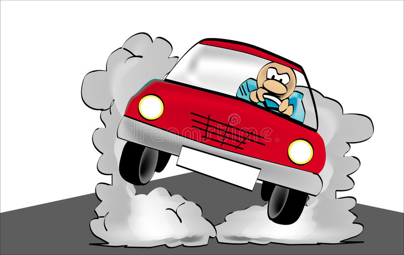 EXCITADOR LOUCO ilustração stock