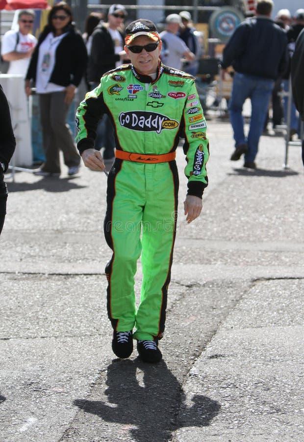 Excitador Mark Martin de NASCAR foto de stock