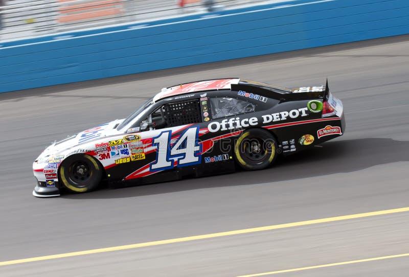 Excitador Tony Stewart do campeão do copo de NASCAR Sprint fotos de stock royalty free