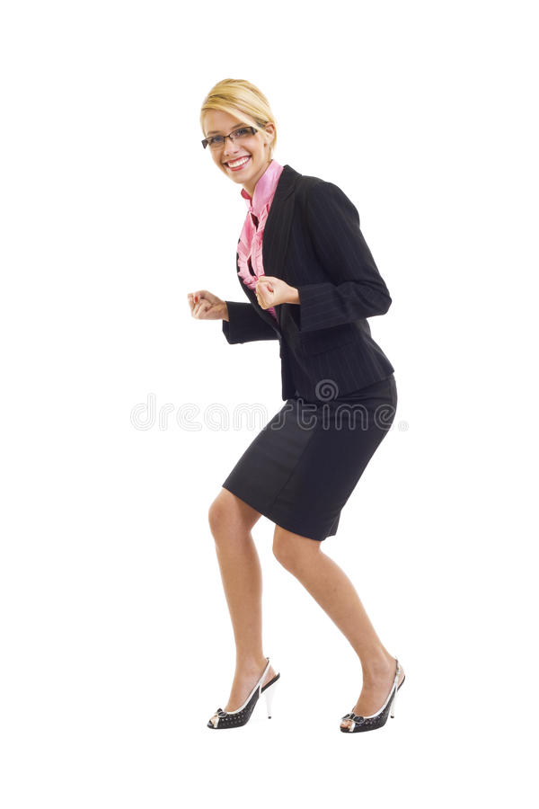 Download Excitated Businesswoman Stock Images - Image: 12112914