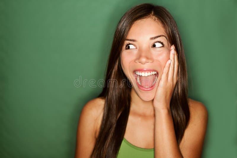 excited/удивлено стоковое фото rf