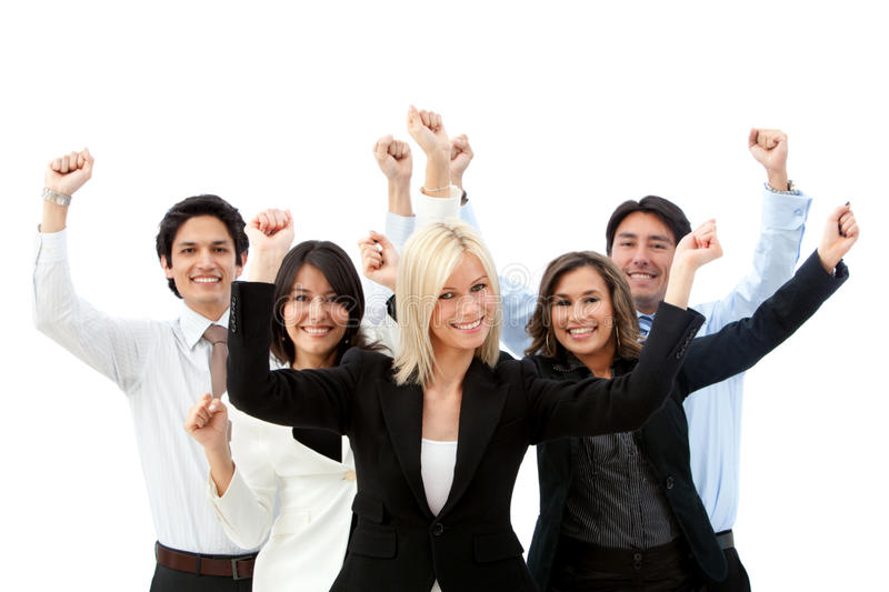 Download Excited business group stock photo. Image of executives - 14176112