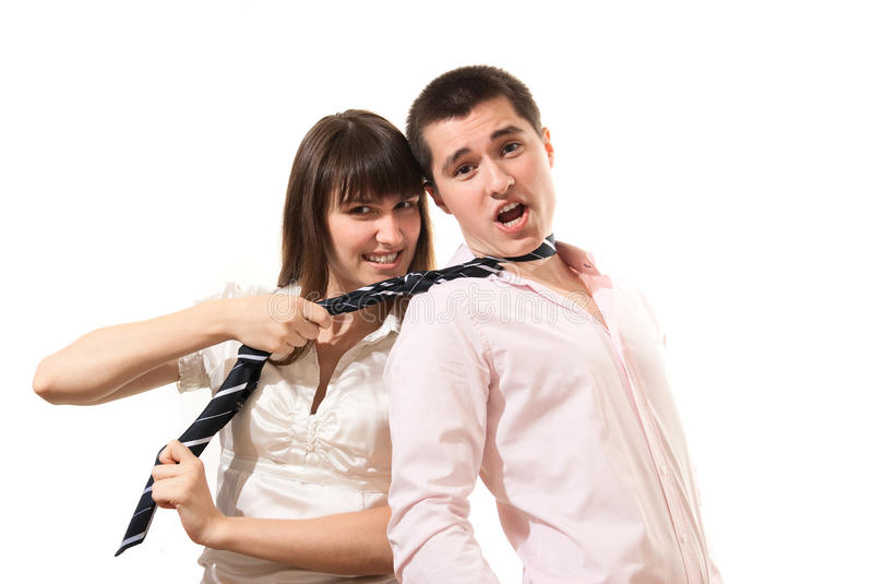 Download Excited Business People Laughing And Fun Stock Photo - Image: 25432810
