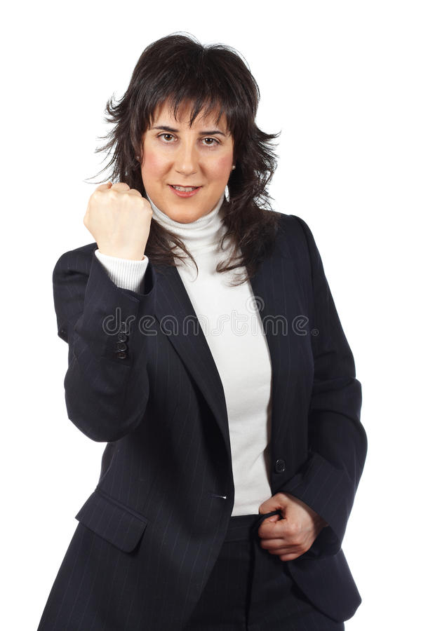 Download Excited businesswoman stock photo. Image of ready, businesswoman - 11814546