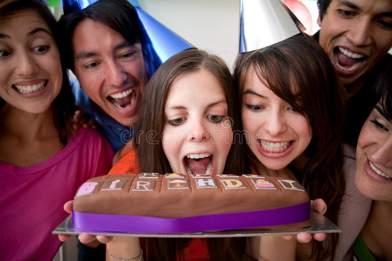 Download Excited friends smiling stock photo. Image of girl, lady - 15347214