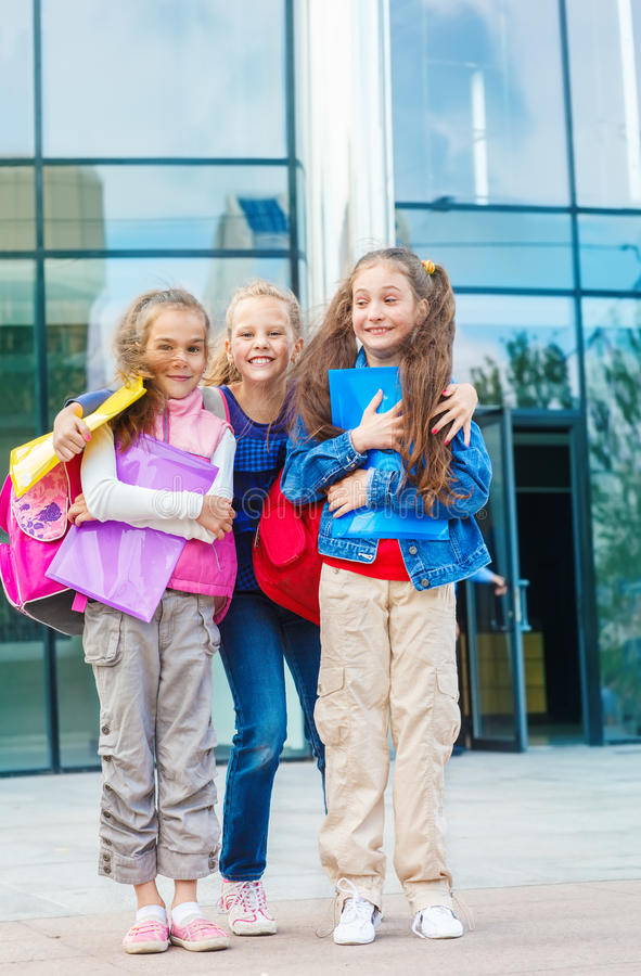 Excited Students Royalty Free Stock Images