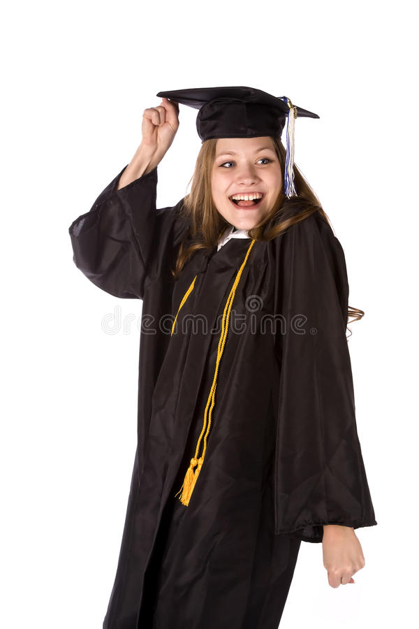 Free Excited To Graduate Royalty Free Stock Photography - 12198507
