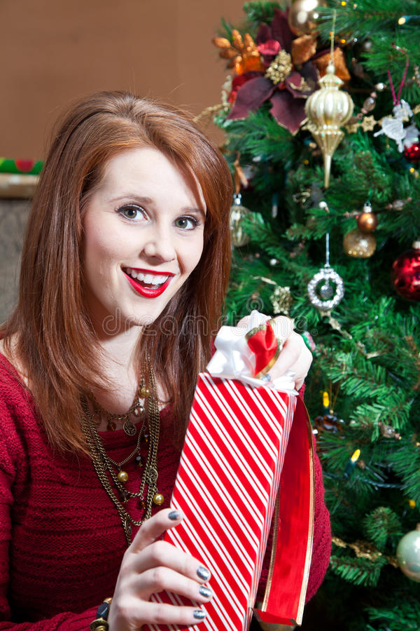 Download Excited Unwrapping stock image. Image of person, wrapped - 34354841