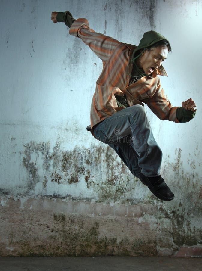exciting человек стоковая фотография rf