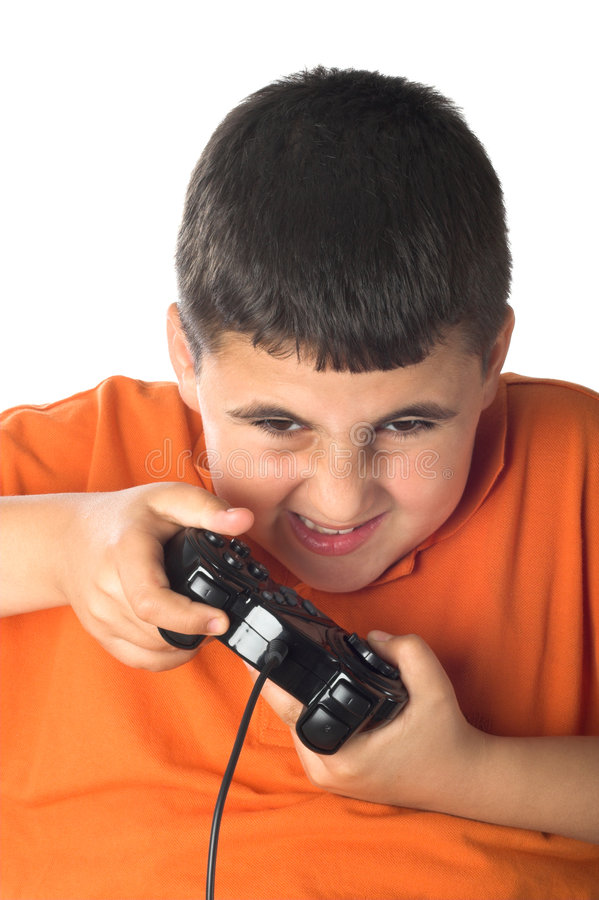 Exciting video game stock photos