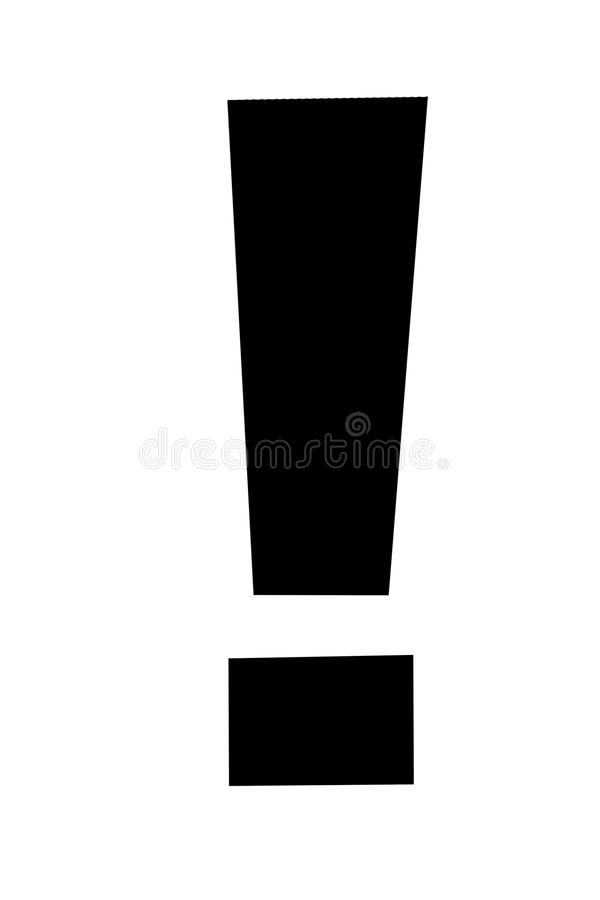 Free Exclamation Point Of Red Ketchup Catsup Sauce On White Background. Royalty Free Stock Photos - 121773678