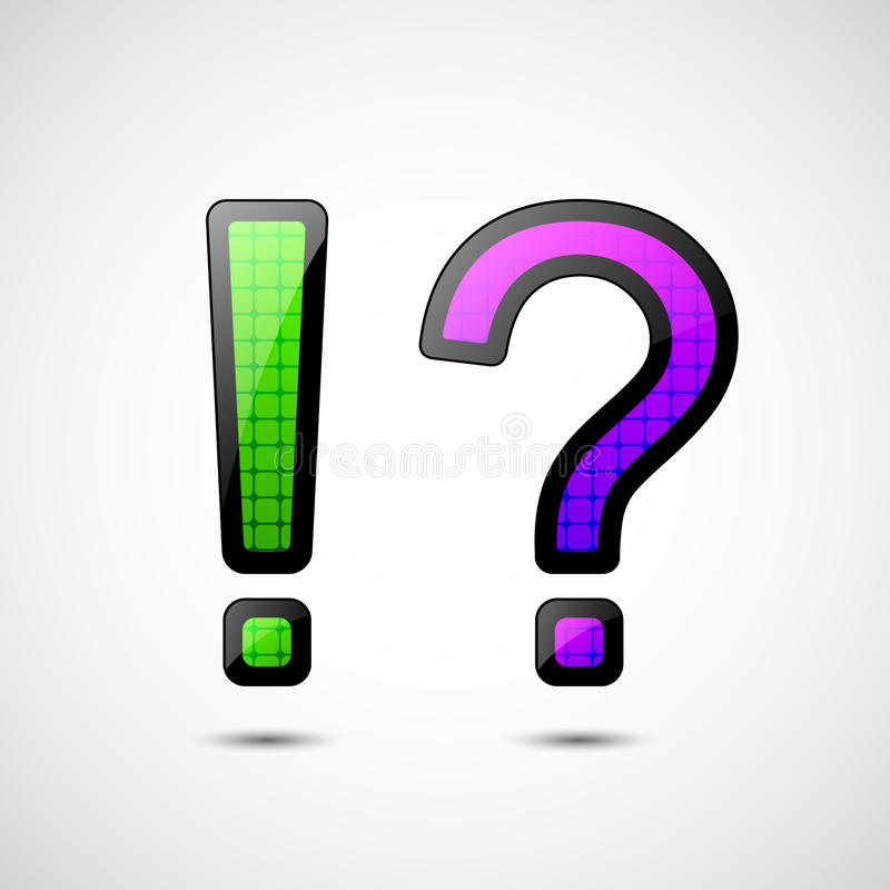 Download Exclamation And Question Mark Stock Vector - Image: 23639592