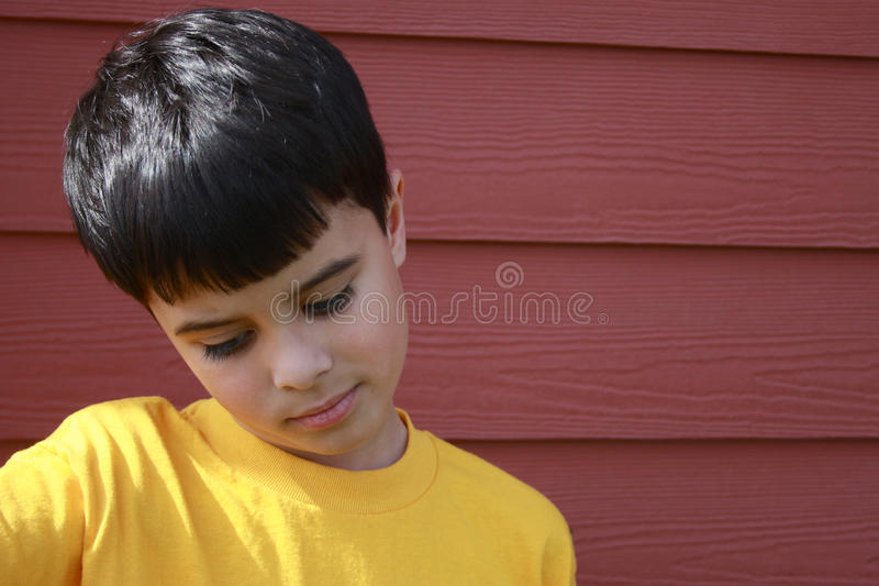 Excluded Boy Stock Photography
