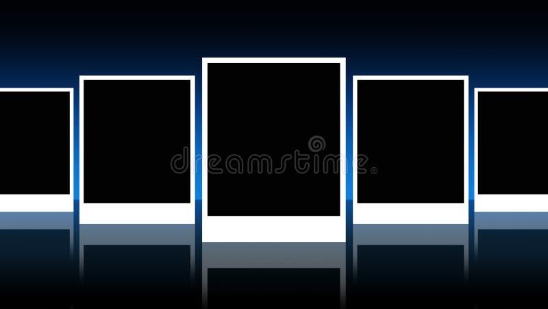 Exclusief fotoframe vector illustratie