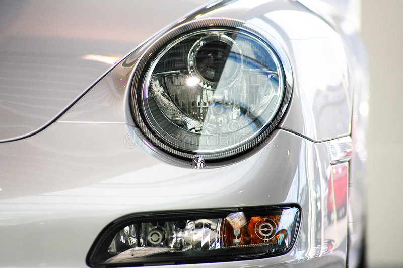 Exclusieve auto royalty-vrije stock fotografie