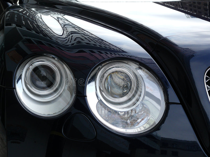 Exclusieve limousine royalty-vrije stock afbeeldingen