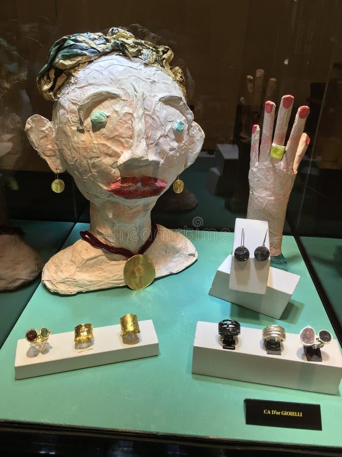 Exclusieve met de hand gemaakte juwelen door Ca D& x27; of Gioielli royalty-vrije stock afbeelding