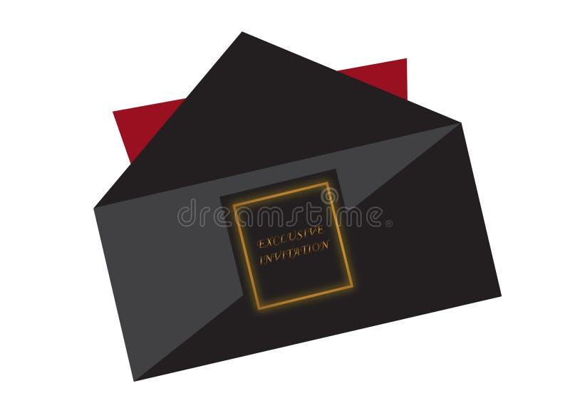 Exclusive invitation stock vector illustration of black 96069023 download exclusive invitation stock vector illustration of black 96069023 stopboris Image collections