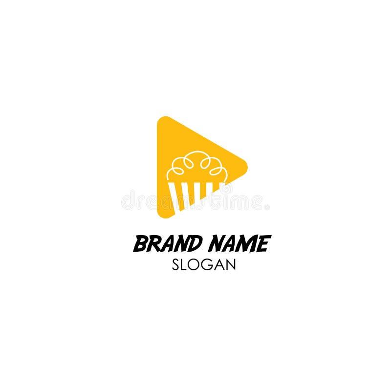 Exclusivité de cinéma de jeu de studio de logo photo libre de droits