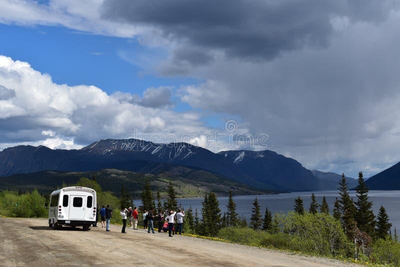 Excursão de Yukon imagem de stock