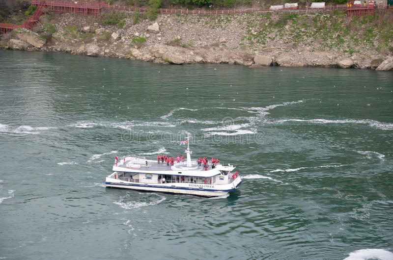 Excursão do barco foto de stock royalty free