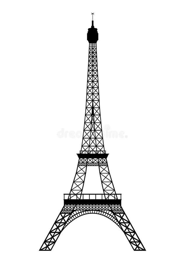 Excursão Eiffel ilustração stock