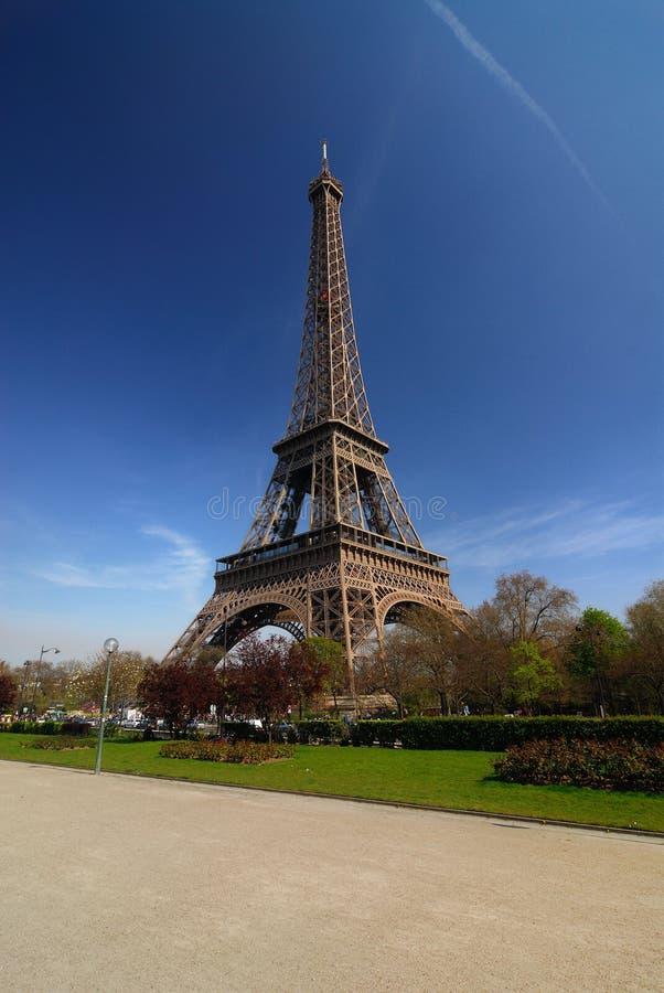 Excursão Eiffel de Paris fotografia de stock royalty free