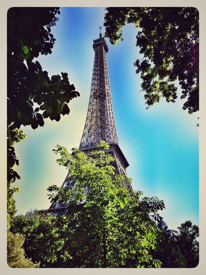 Excursão Eiffel do La imagens de stock