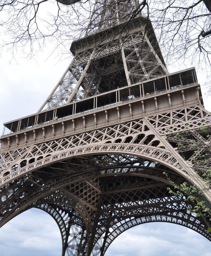 Excursão Eiffel - Eiffelturm do La em Paris fotos de stock