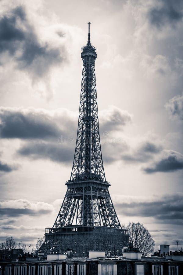 Excursão Eiffel Paris fotografia de stock