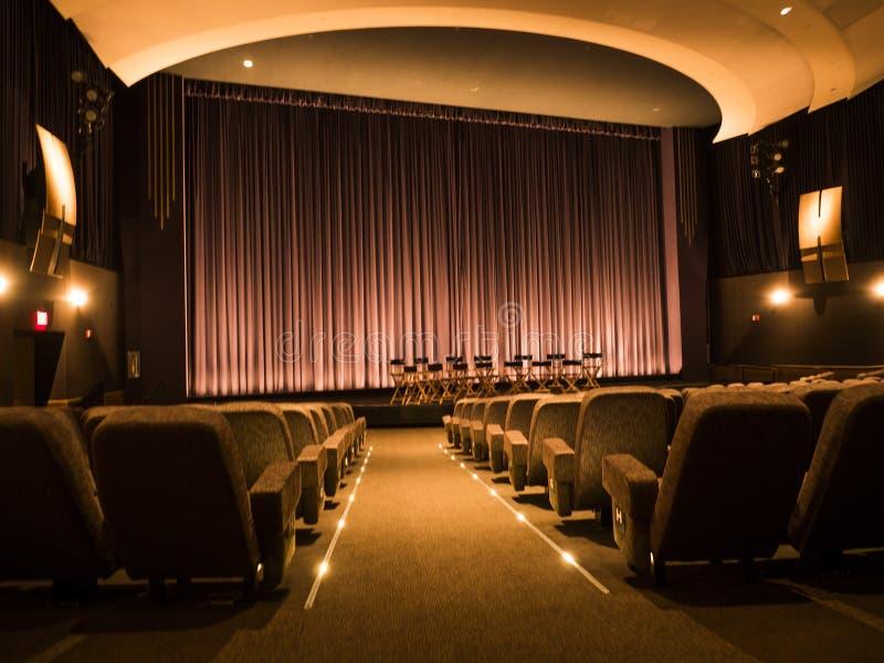 Excursão no 14 de agosto de 2017 - Los Angeles de Hollywood do teatro das imagens dos estúdios de Paramount, LA, Califórnia, CA foto de stock royalty free