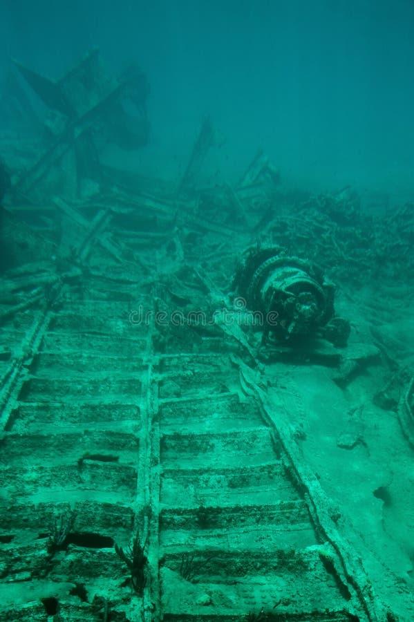 Excursão subaquática do mergulhador do mergulho da aventura fotografia de stock royalty free