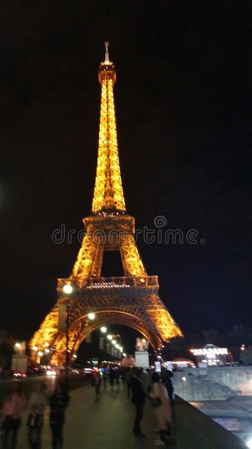 Excursion Eiffel photos libres de droits
